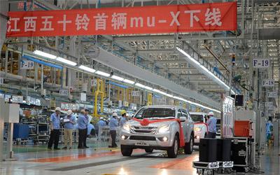 江西五十铃mu-X预计7月上市 售价17.88万起