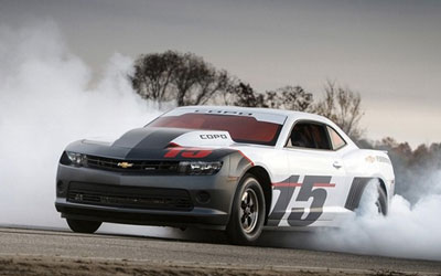 Camaro限量定制赛车拍卖 将用于慈善事业 _图片新闻