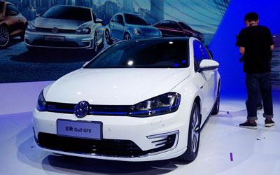 高尔夫GTE亮相2015成都车展 售28.88万元