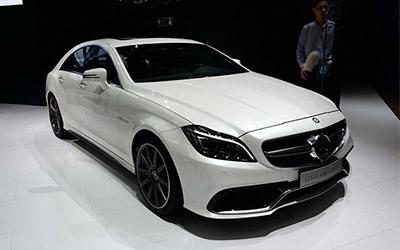 2014广州车展:新款CLS 63 AMG车展亮相