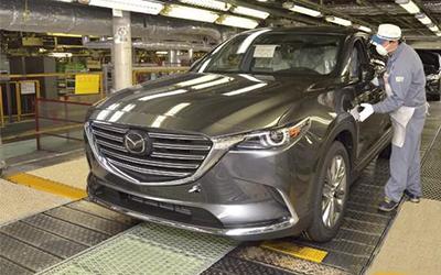 马自达全新CX-9海外开始量产