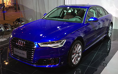 奥迪新款A6L正式上市 售41.53-75.76万