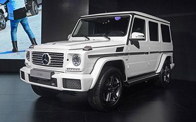 奔驰新款G 500正式上市 售价169.8万元