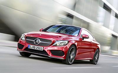 造型动感 奔驰新C级Coupe于3月30日上市