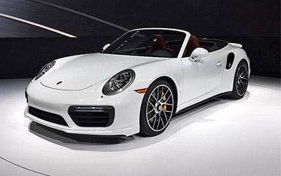 2016北美车展 保时捷新款911 Turbo