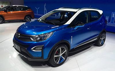 2015上海车展 比亚迪新SUV元首发亮相