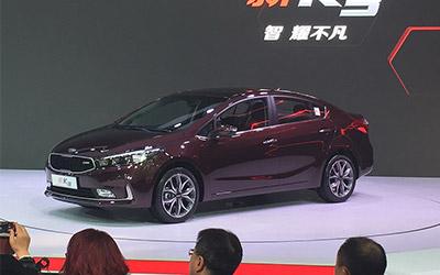 2016北京车展 起亚新款K3售9.68万元起