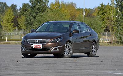 2015广州车展 标致408新车型售价13.97万