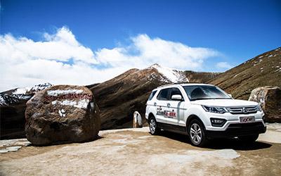 驰骋雪域高原 长安CX70动力表现优异