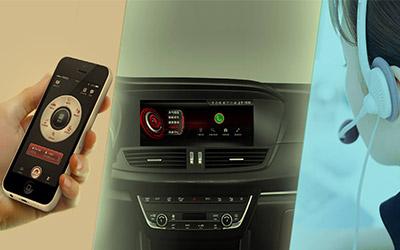 宝沃B-Link智能互联系统  更懂汽车更懂你