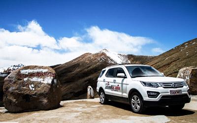 长安CX70 那只是青藏高原