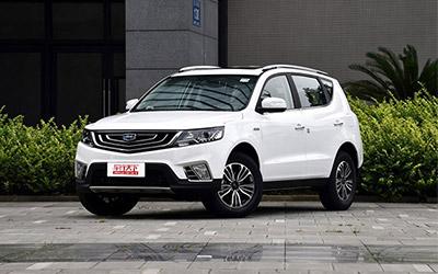 预售8.09-10.39万元 远景SUV详细预售价