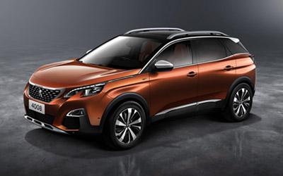 剑指中级SUV市场 标致4008成都车展全球首发