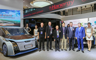 汉能太阳能动力汽车亮相上海 开启人类生活新方式_图片新闻