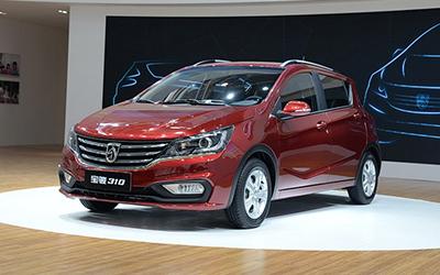 宝骏310定于9月8日上市 四款车型可选