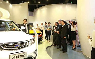 美国驻华大使为博越点赞 吉利汽车成G20峰会中国品牌代言人