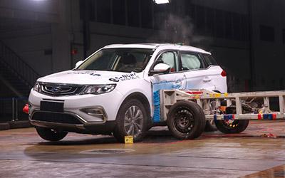 """""""中国最安全SUV""""是如何练就的"""