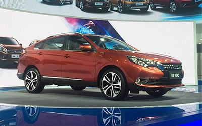 2016广州车展 中级SUV启辰T90预售12-16万元