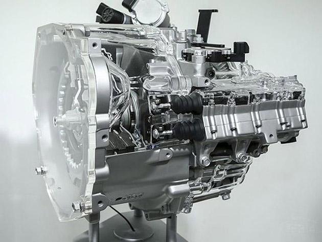 正是由于采用了电机驱动模式,此款7速双离合变速箱在传动效率