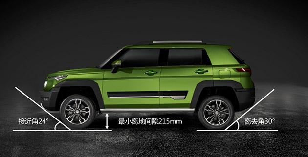 在被动安全方面,笼式车身结构,高强钢比例高达57%,使 bj20轻松达到 c