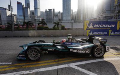 吉凯恩助力Formula E新赛季香港揭幕战