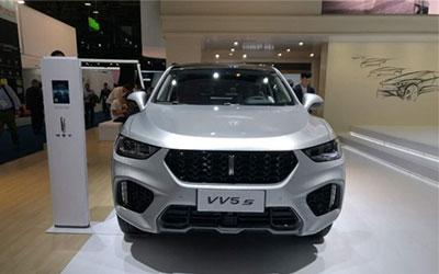 2017法兰克福车展:VV5s/VV7s Hi4首发