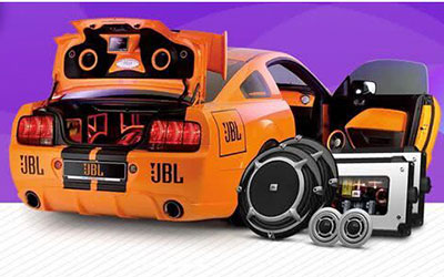 JBL汽车改装音响 为女王打造移动音乐宫殿