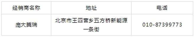 奇瑞新能源京城团购会