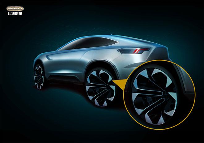 比速T Concept概念车