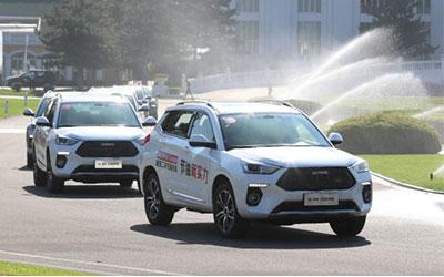 节油新实力 新哈弗H6 Coupe极限挑战二环拥堵高峰