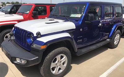 将于7月上市 Jeep全新牧马人实车到港