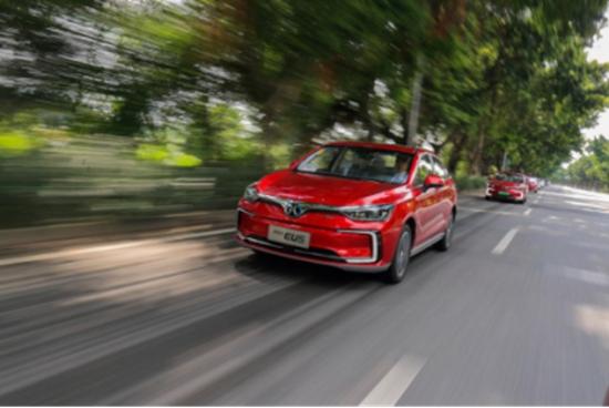 品牌、技术齐突破,北汽新能源EU5夺A级纯电动汽车销量冠军