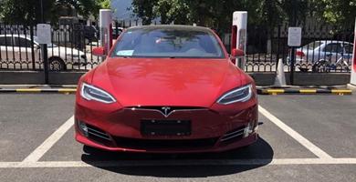 续航性能双提升 2019款Model S实车到店