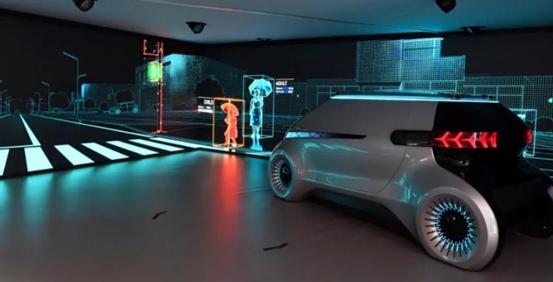 中国上海亚洲消费电子展会现代摩比斯畅谈无人驾驶技术_图片新闻