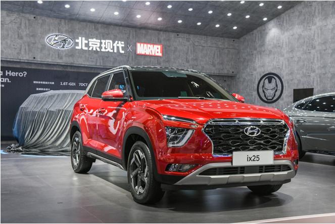 10.5万起,北京现代新一代ix25本月底上市