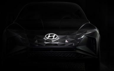 现代汽车SUV概念车预告曝光 将于洛杉矶车展首发亮相_图片新闻