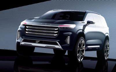 """""""智·感美学""""设计进阶 EXEED星途VX Concept Car设计草图曝光"""