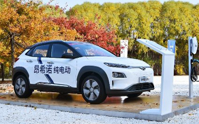 """广州车展新能源打响""""续航之战""""昂希诺纯电动独占合资C位"""