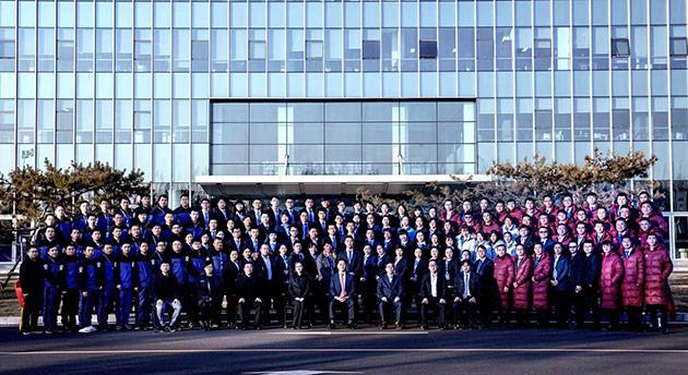 2019年北京现代经销商精英技能大赛参赛人员合影
