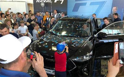 哈弗F7助力俄哈弗超越吉利 称霸在俄中国品牌销量NO.1