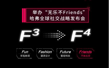 哈弗F系命名Fashion、Fun、Future