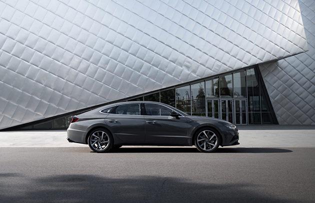 基于i-GMP平台打造的首款量产车型第十代索纳塔