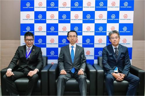 丰田合成(中国)高层接受媒体采访