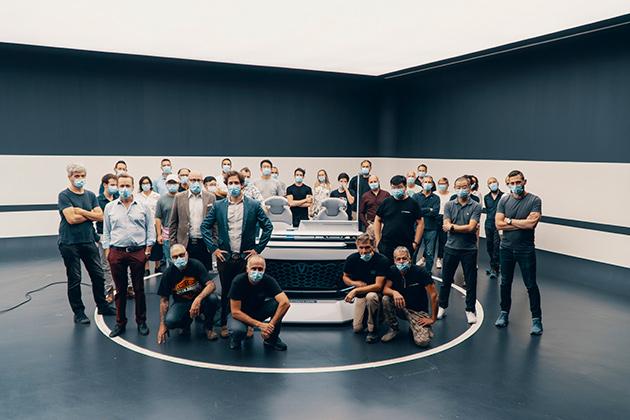 长安汽车欧洲中心设计团队(部分)